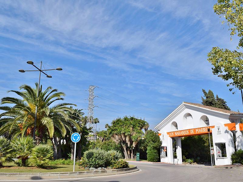 Arco de Los Naranjos de Marbella