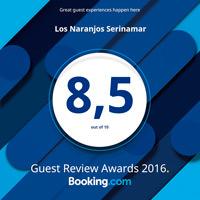 Valoración Booking para Serinamar 2016