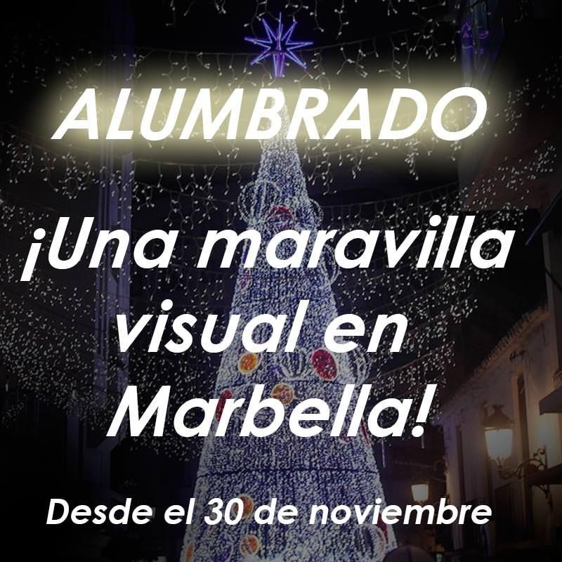 Alumbrado Navidad Marbella 2017