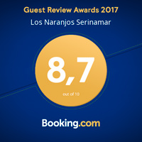Booking Awards Serinamar 2017