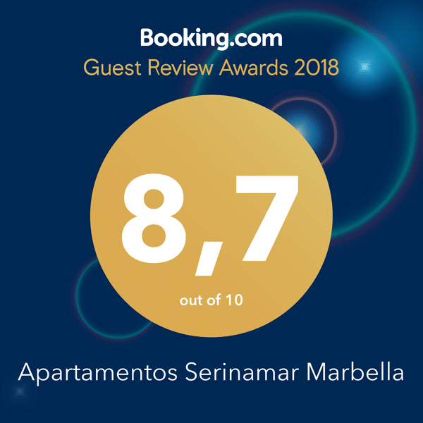 Booking Awards Serinamar 2018